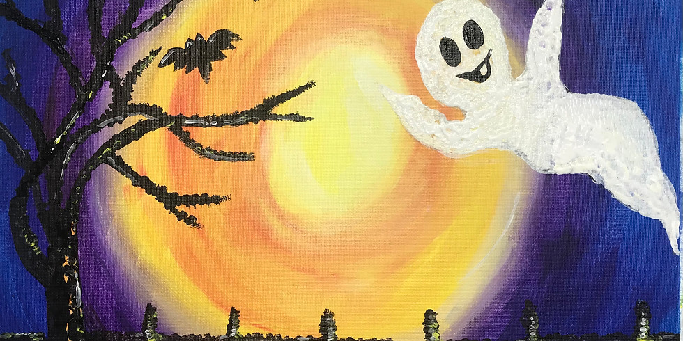 Paint Event - A Bootiful Night