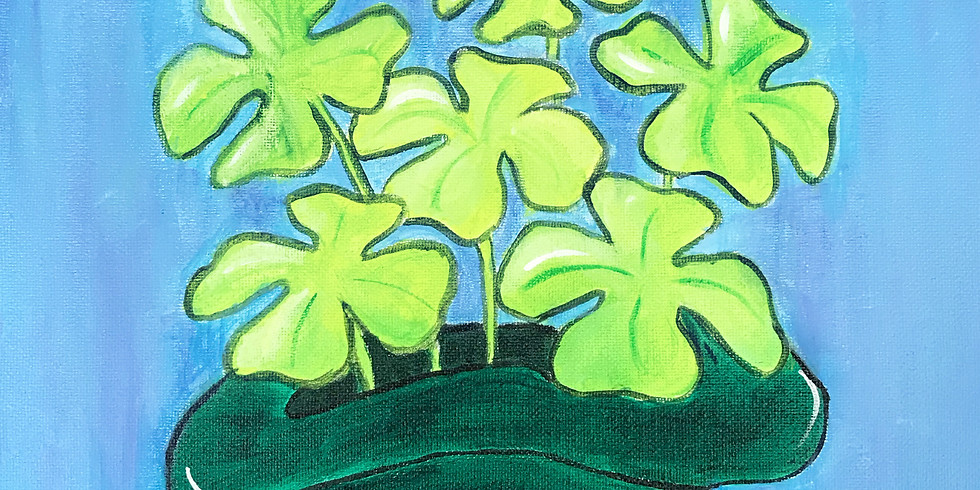 St. Patrick's Day Paint Event