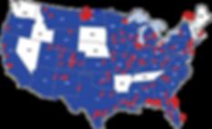 Push Pin Map of USA-01.png