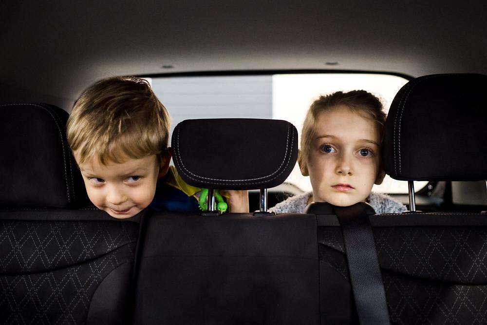 kids at the philadelphia auto show