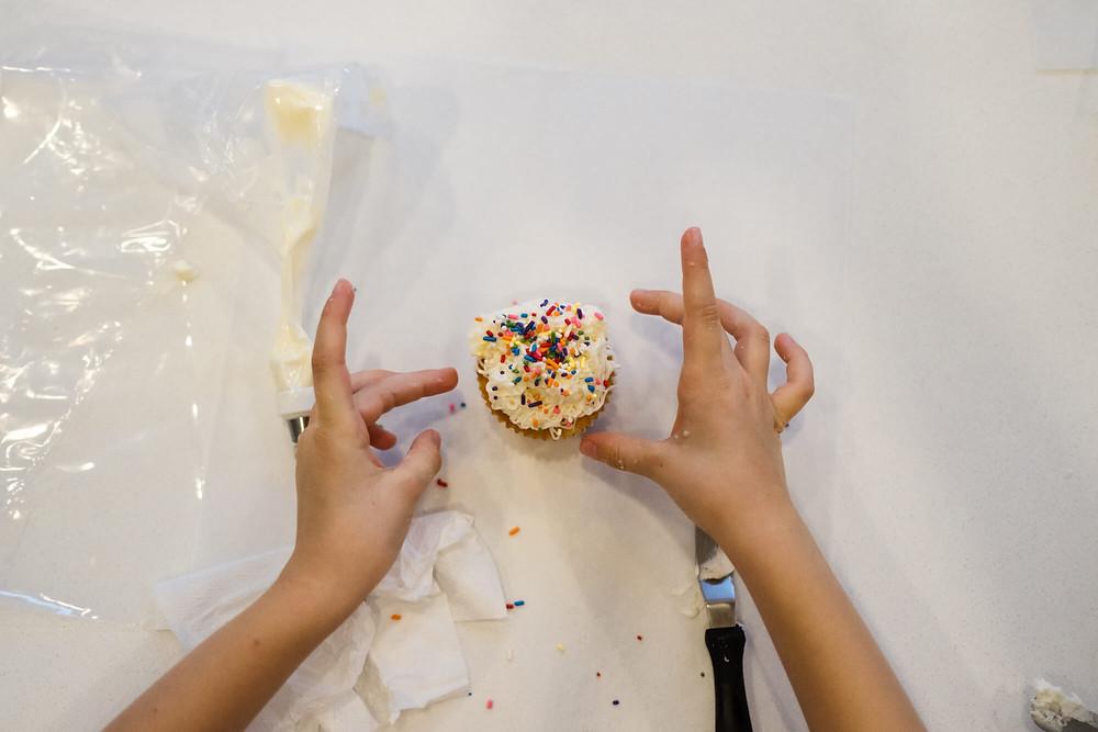 Sweet nectar dessert kitchen cupcake