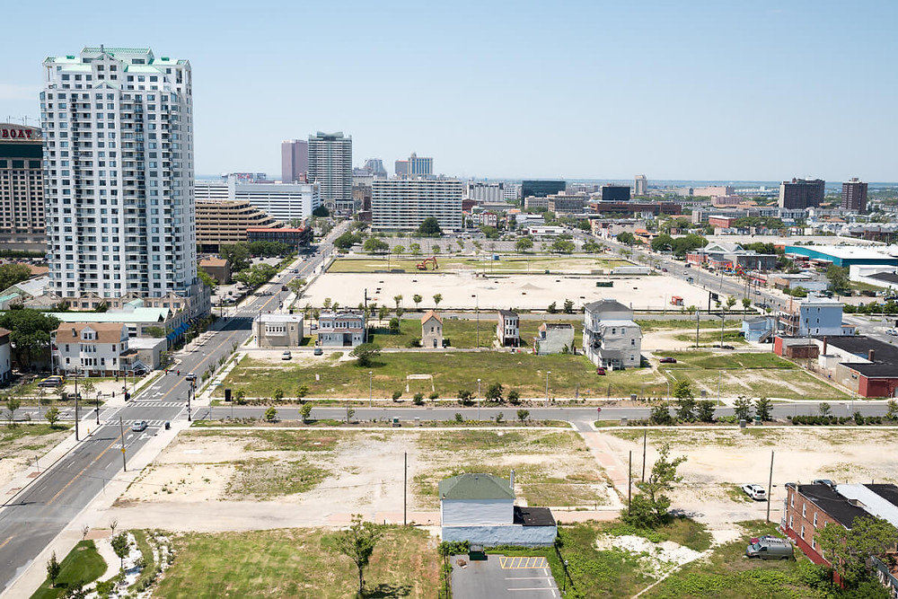 View of Atlantic City from Absecon Lighthouse