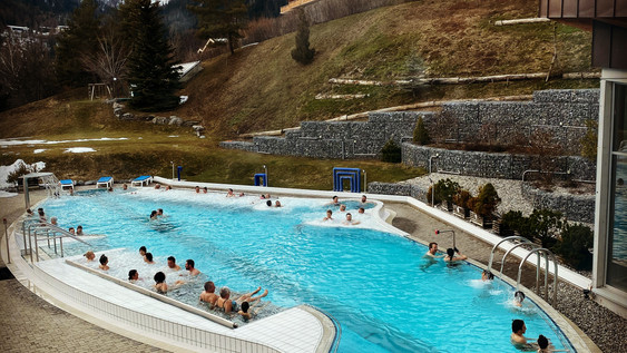 Visiting Swiss Thermal Baths During the Pandemic.