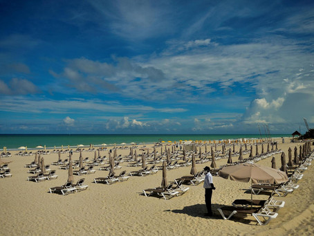 """""""Varadero, Cuba's star beach, wants to be a refuge from the virus"""""""
