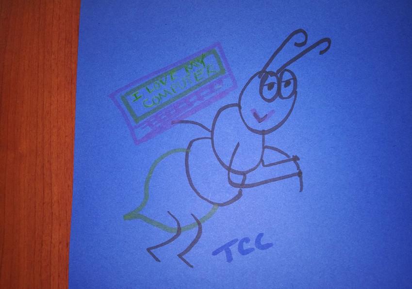 Teacher Drawing