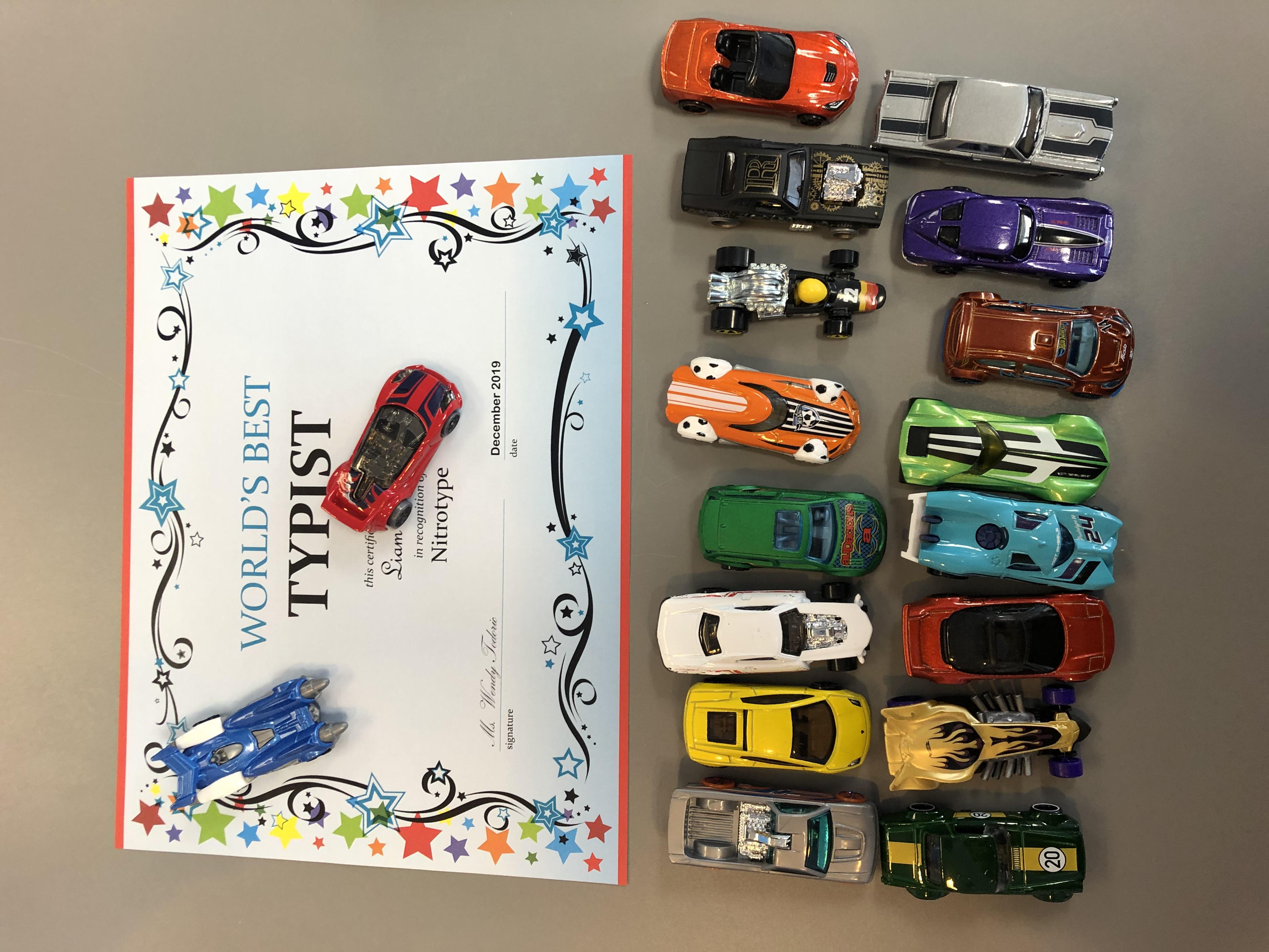 Level 25 Achievers - Certificate & Car!