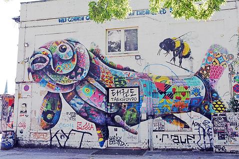 berlin stret art kristelm galeriekm allemagne