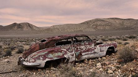 Rhyolite voiture fantome