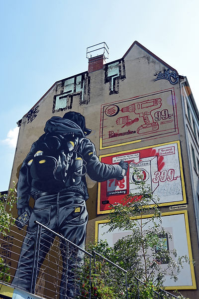 berlin street mur dessin kristelmphotographe