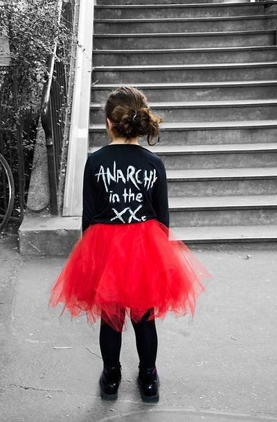 portfolio kristelmphoto tutu rouge enfant paris marche