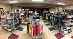 Closet store set up photo ready for Sept 2021