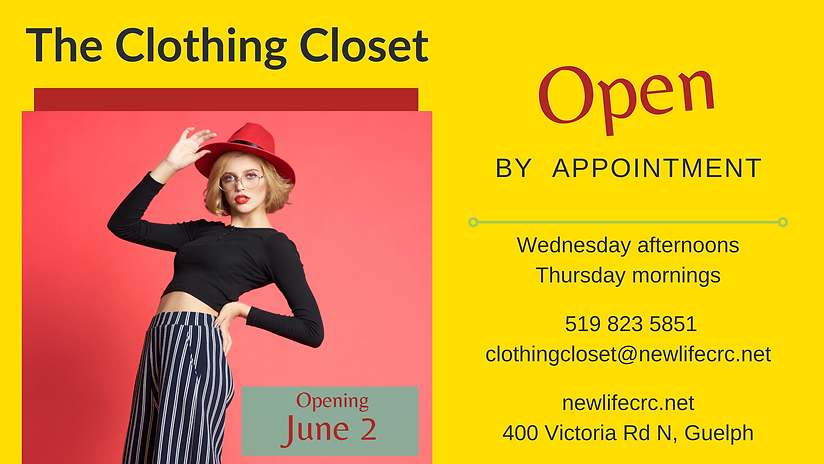 Clothing Closet Spring 2021 Open by Appo