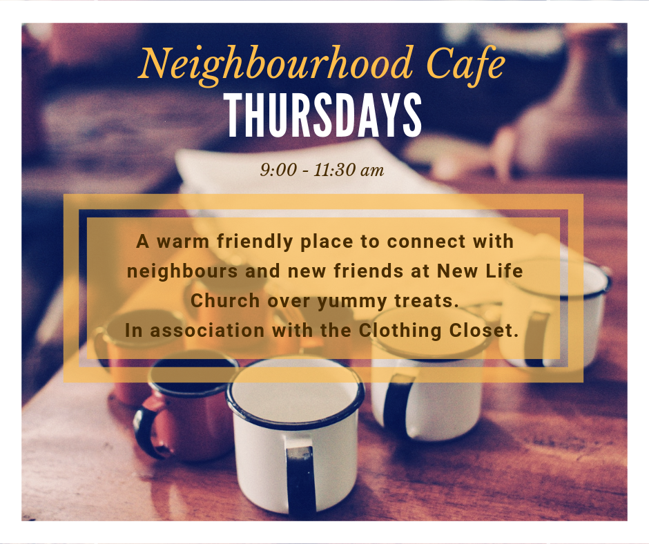 Neighbourhood Cafe Fall 2019
