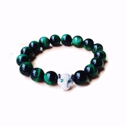 Green Tiger Eye Bracelet