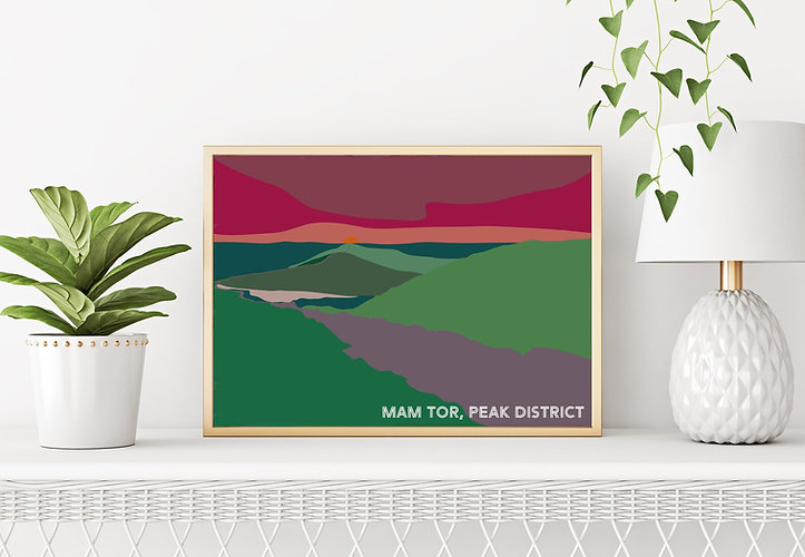Mam Tor, Peak District, Yorkshire