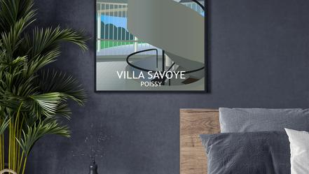 Le Corbusier's Villa Savoye, Poissy, Frane