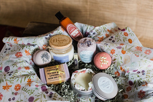 Luxury Spa Package Gift for Mom, Friend, Lavender Spa Gift Box
