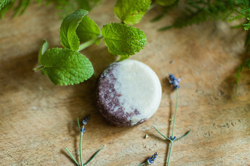 Solid Conditioner Bar Essential Oils Lavender Mint