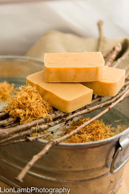 Handmade Bar Soap with Citrus and Eucalyptus Essential Oils