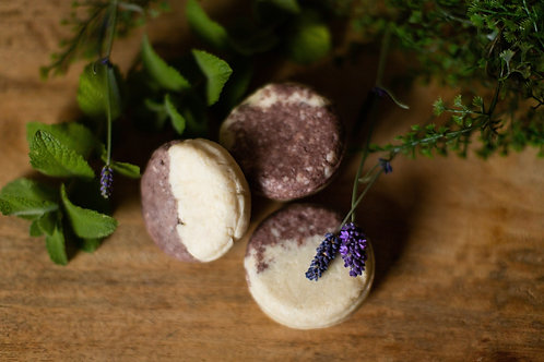 Solid Shampoo and Conditioner Bars Lavender Mint