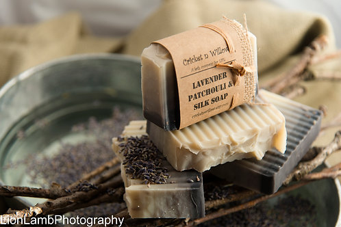 Lavender Patchouli Soap Bar, Mens Bath and Shower Soap, Gift for Man