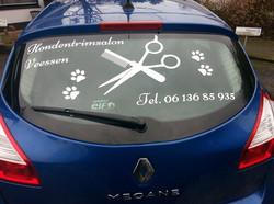 Vandaag mooie belettering op de auto laten maken. Ziet er fantastisch uit! Met dank aan Marjan ten C