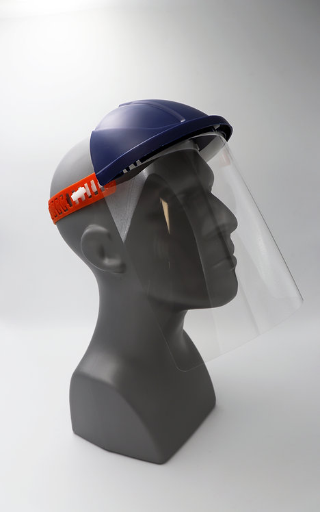 Suregrip-BBI Reusable Face Shield with Cap and Strap