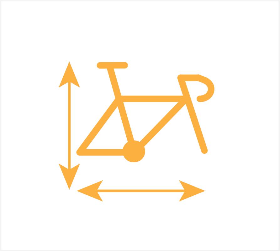 maat bepalen nieuwe fiets