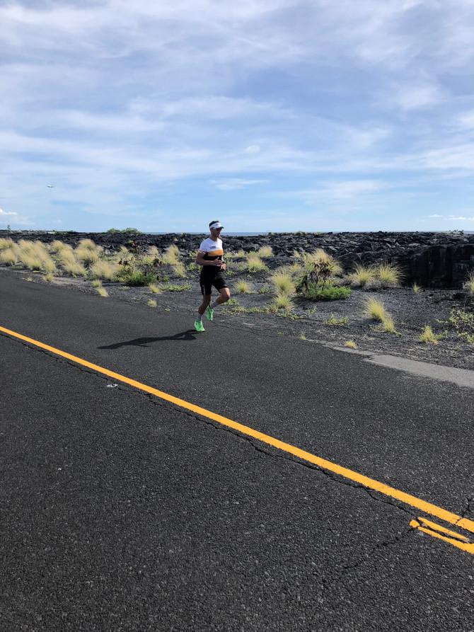 """Dag 1: Op weg naar de Ironman Hawaï: """"Persoonlijke besttijd scherper stellen"""""""