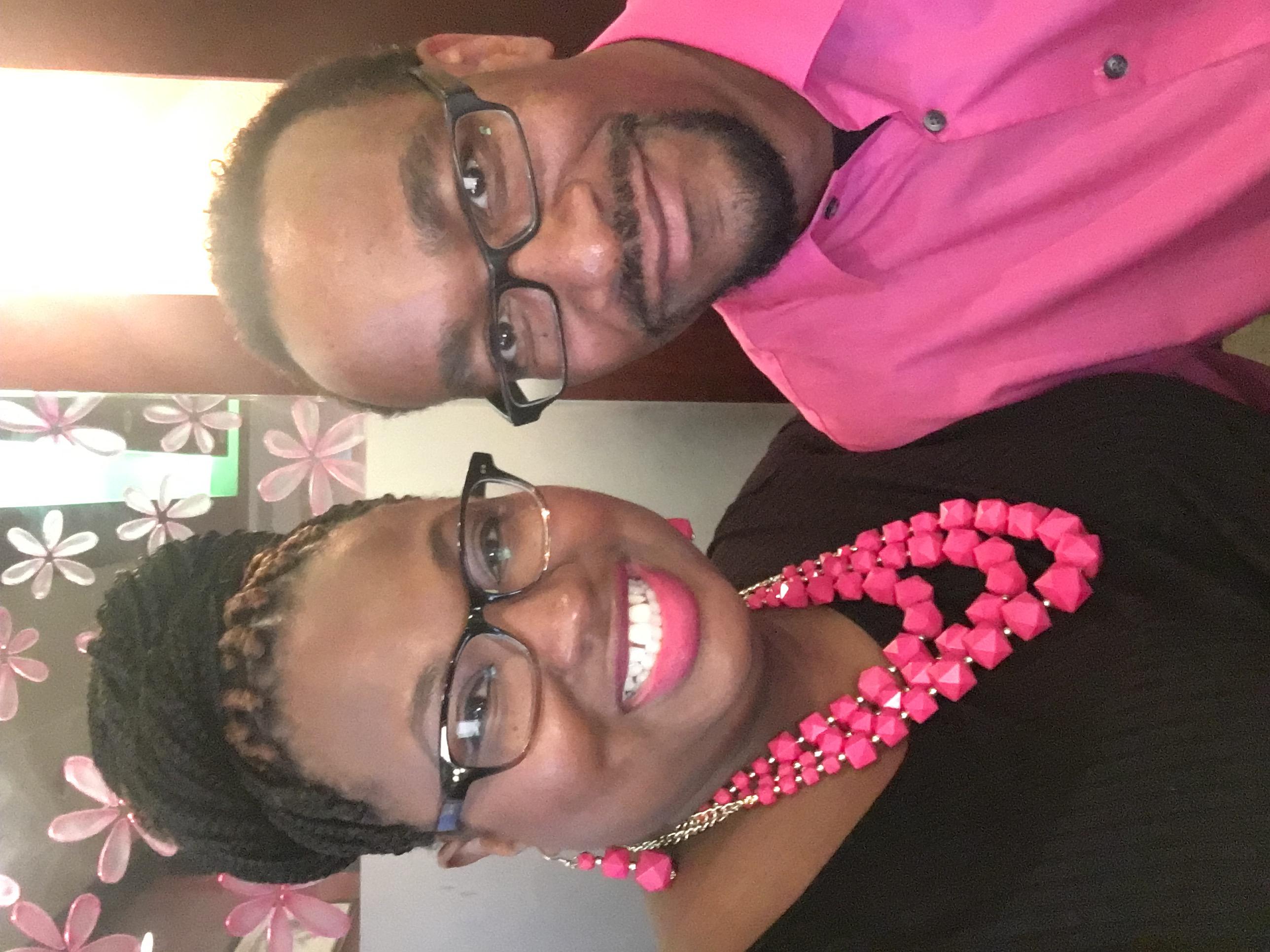 FC pink black