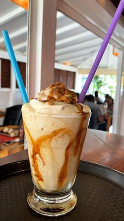 Milkshake du jour, spéculos caramel