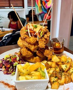 Chicken&Waffles Tower