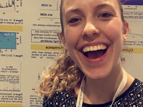 Hayley Lhotka Presented a Poster at ASMS 2018
