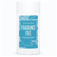 Fragrance Free Natural Deodorant for Sensitive Skin Baking Soda-Free