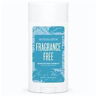 Fragrance Free Natural Deodorant for Sensitive Skin Baking Soda-Free