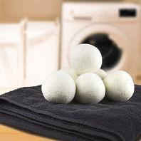 Wool Dryer Balls 6-Pack XL White