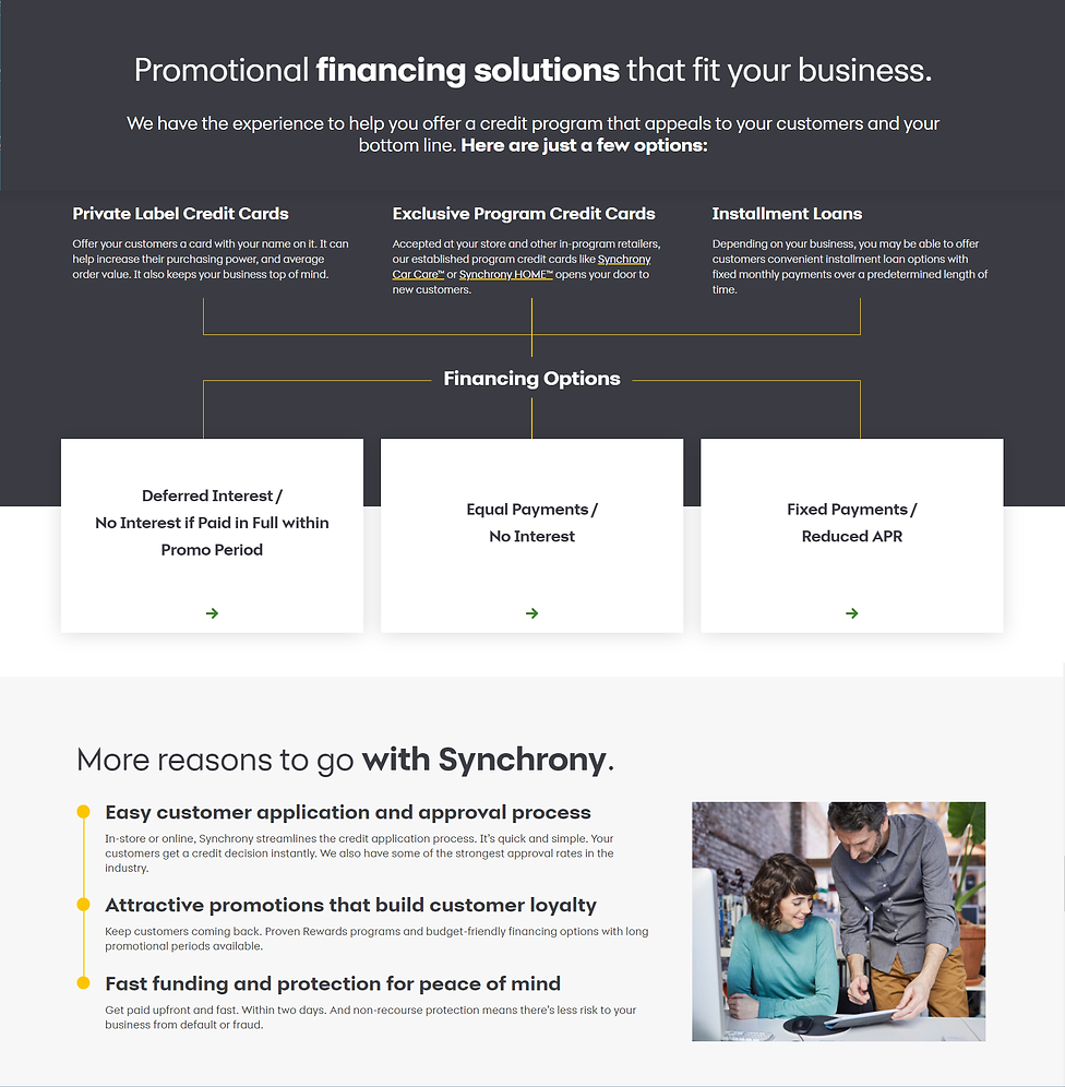 Don Marcotte Flooring Offers Home Improvement financing Through Synchrony Bank
