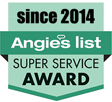 Angie's List Super Service Award since 2014