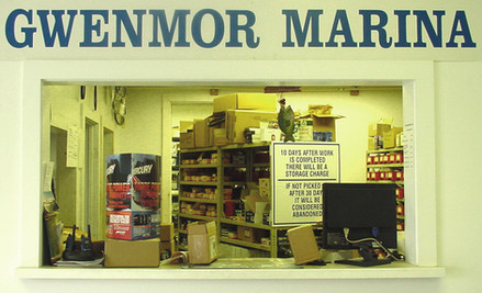Parts Store and Service Gwenmor Marina Mystic CT