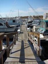 summer slips at Gwenmor Marina Mystic CT