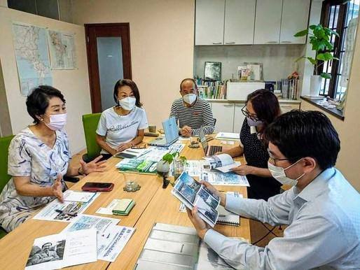 コミュニティカフェ 湘南三浦メンバー報告会