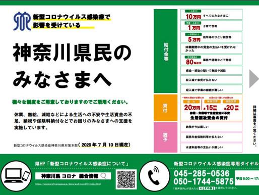 新型コロナウイルス感染症の影響に対する支援策ご案内(神奈川県・横須賀市)