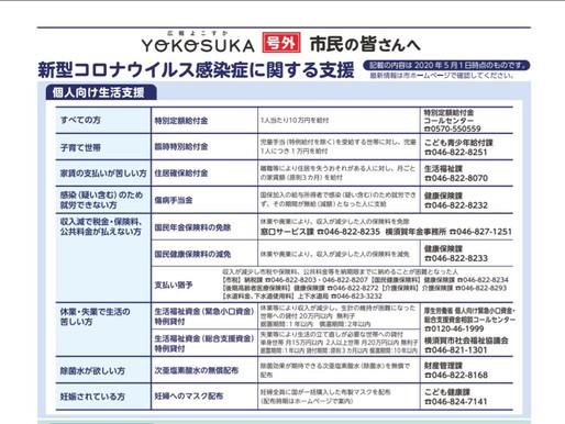 支援策一覧と医療機関リスト(横須賀市)