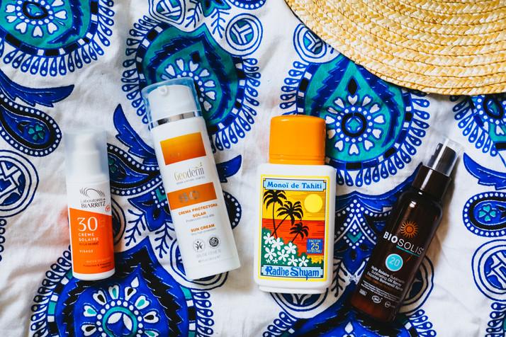 Cremas solares y naturales!