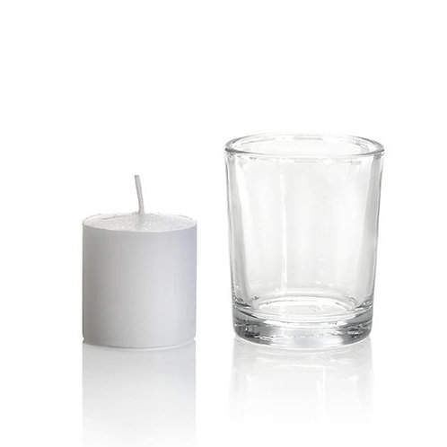 Votive - Clear Pair