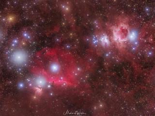 Orion & Pferdekopf Nebel