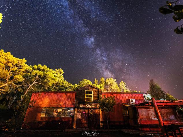 Milchstraße Antalya 2017