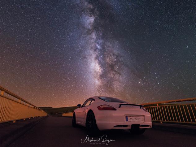 Milchstraße - Porsche