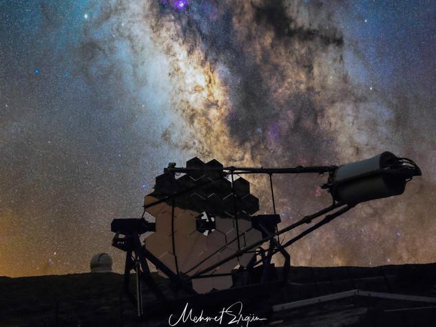 La Palma Teleskop - Milchstraße