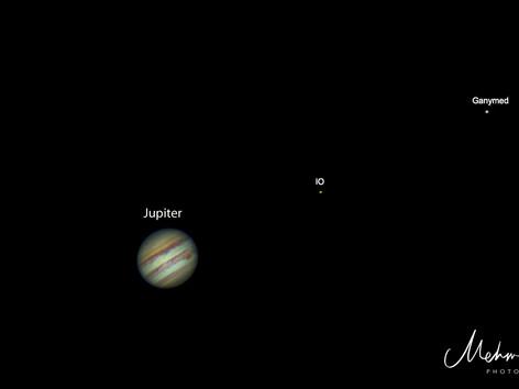 Jupiter und Monde